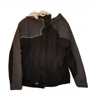 Insulated Columbia Sportswear Black Gray & White
